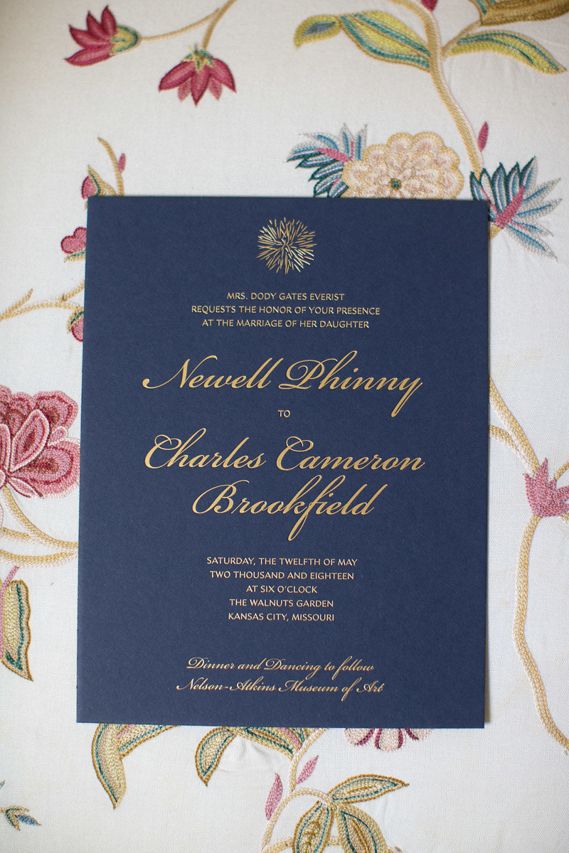 Kansas City, Events by Reagan, Charleston Event Planner, Wedding Invitation