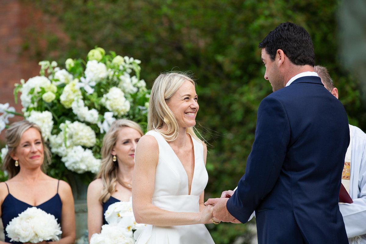 Kansas City, Events by Reagan, Charleston Event Planner, Wedding Ceremony, Garden Wedding, Bride and Groom