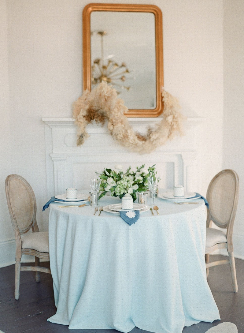 Events by Reagan, Lela Rose Collaboration, Table Setting, Bridal Luncheon, Table Top Decor, Personal Cakes