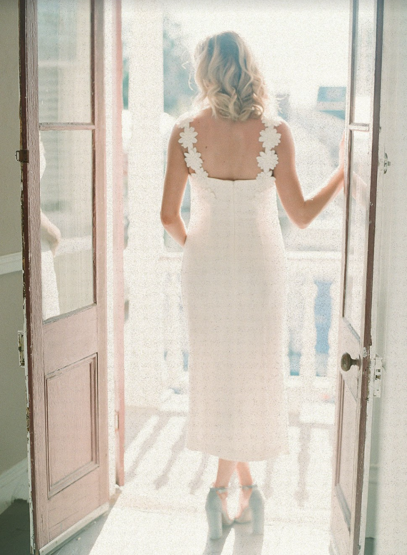 Events by Reagan, Lela Rose Collaboration, White Dress, Bridal Luncheon, Flower Embroidery