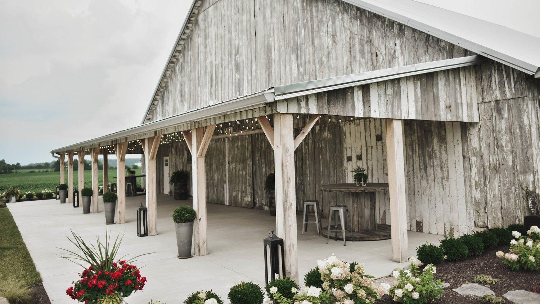 The Barn On Boundary
