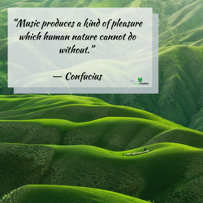 """Music produces a kind of pleasure which human nature cannot do without."" ― Confucius.png"