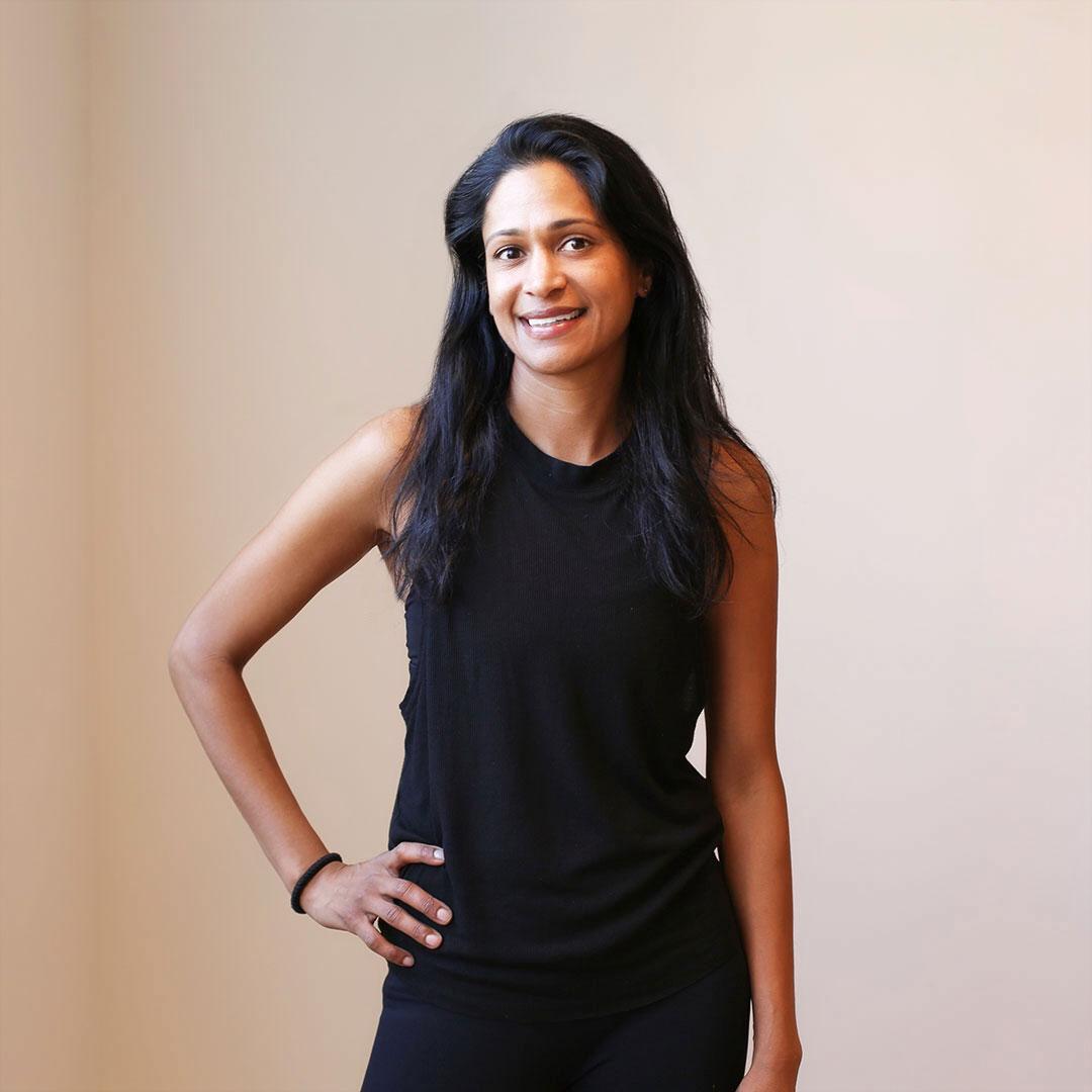 Sohita Torgalkar.  Megaformer.  To take class with Sohita,  click here .