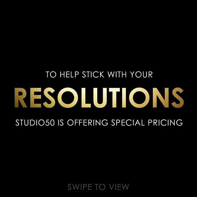 Sticking with your RESOLUTIONS is just as important as making them. Our special pricing will help you do just that. ⁃New clients can purchase under the intro offers section of our website. ⁃Existing clients can purchase using the promo codes at checkout. ⁃Valid for one time purchase only.