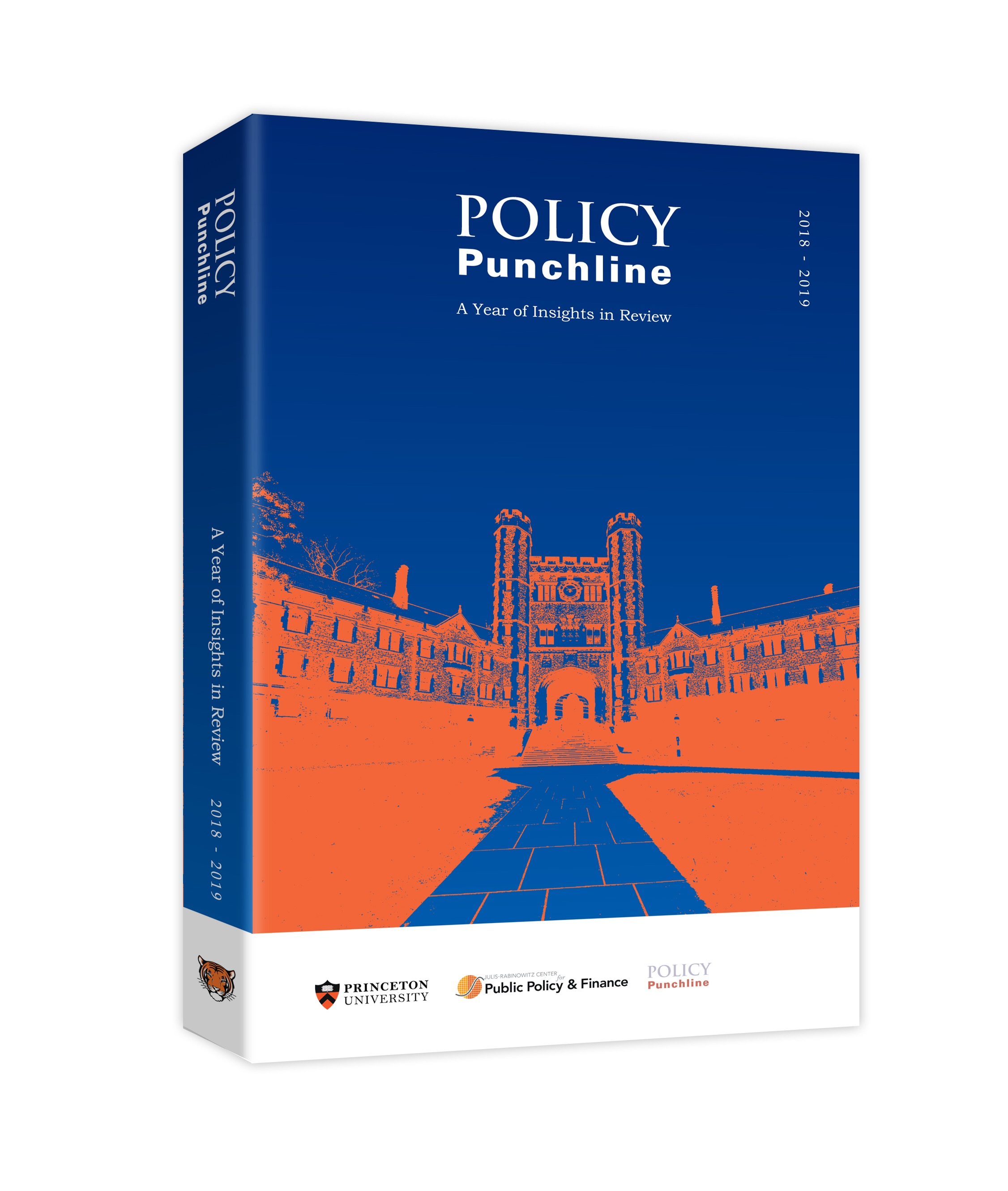 Policy Punchline: A Year of Insights in Review 2018-2019   Book completed; currently in talks with publishers for release  Please contact us if you would like an advanced copy