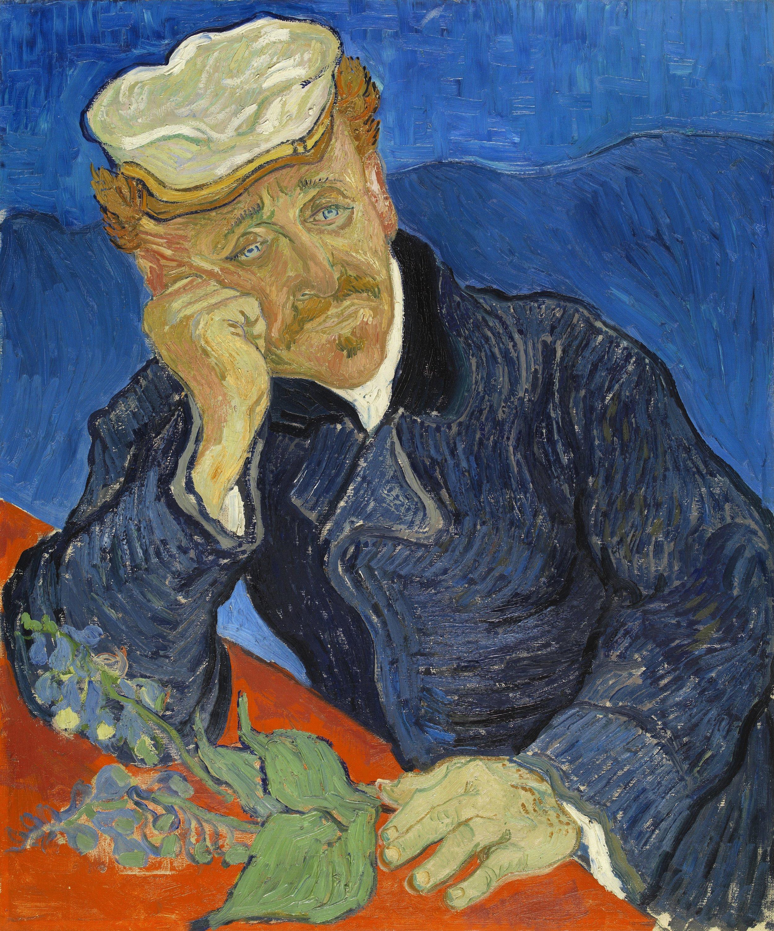 Vincent van Gogh's Portrait of Dr. Gachet