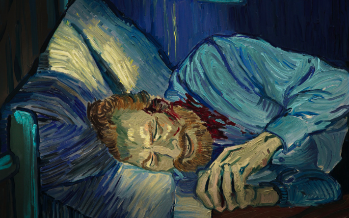 Screengrab from the movie  Loving Vincent