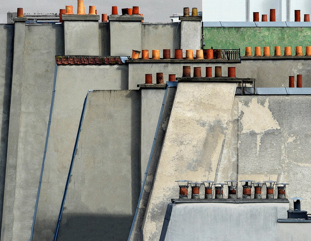 Paris Rooftops, by Michael Wolf