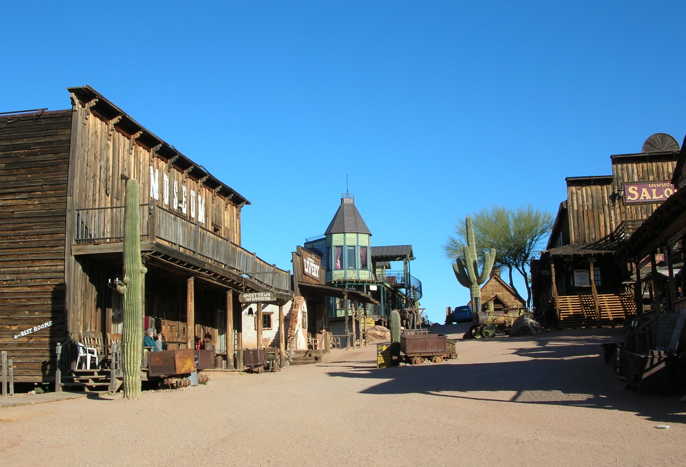 Ghost Town near Yellowstone