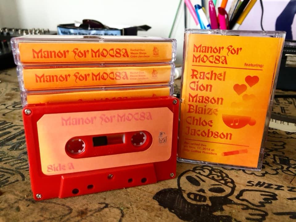 Manor for MOCSA - Live @ Blip Roaster ft. Chloe Jacobson, Mason Blaize, & Rachel Cion