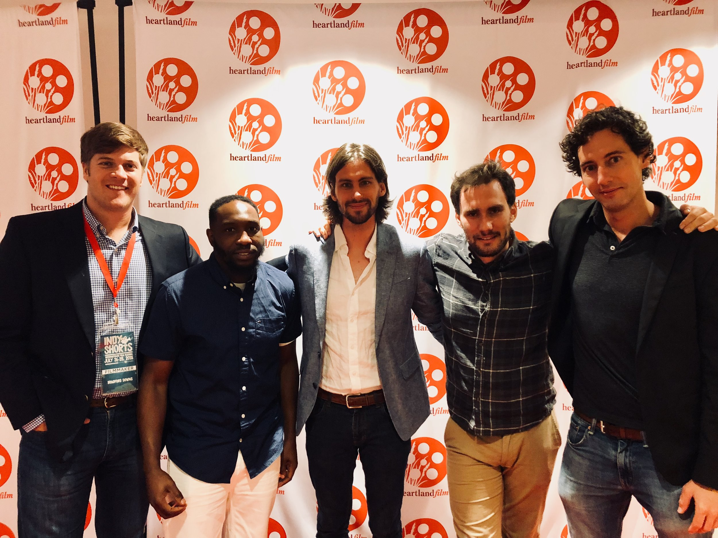 Producer Bradford Downs; Star Jerome Conquest (a.k.a. The Conqueror); Director Timothy Blackwood; Cinematographer Stephen St. Peter; Writer Jesse Blackwood.