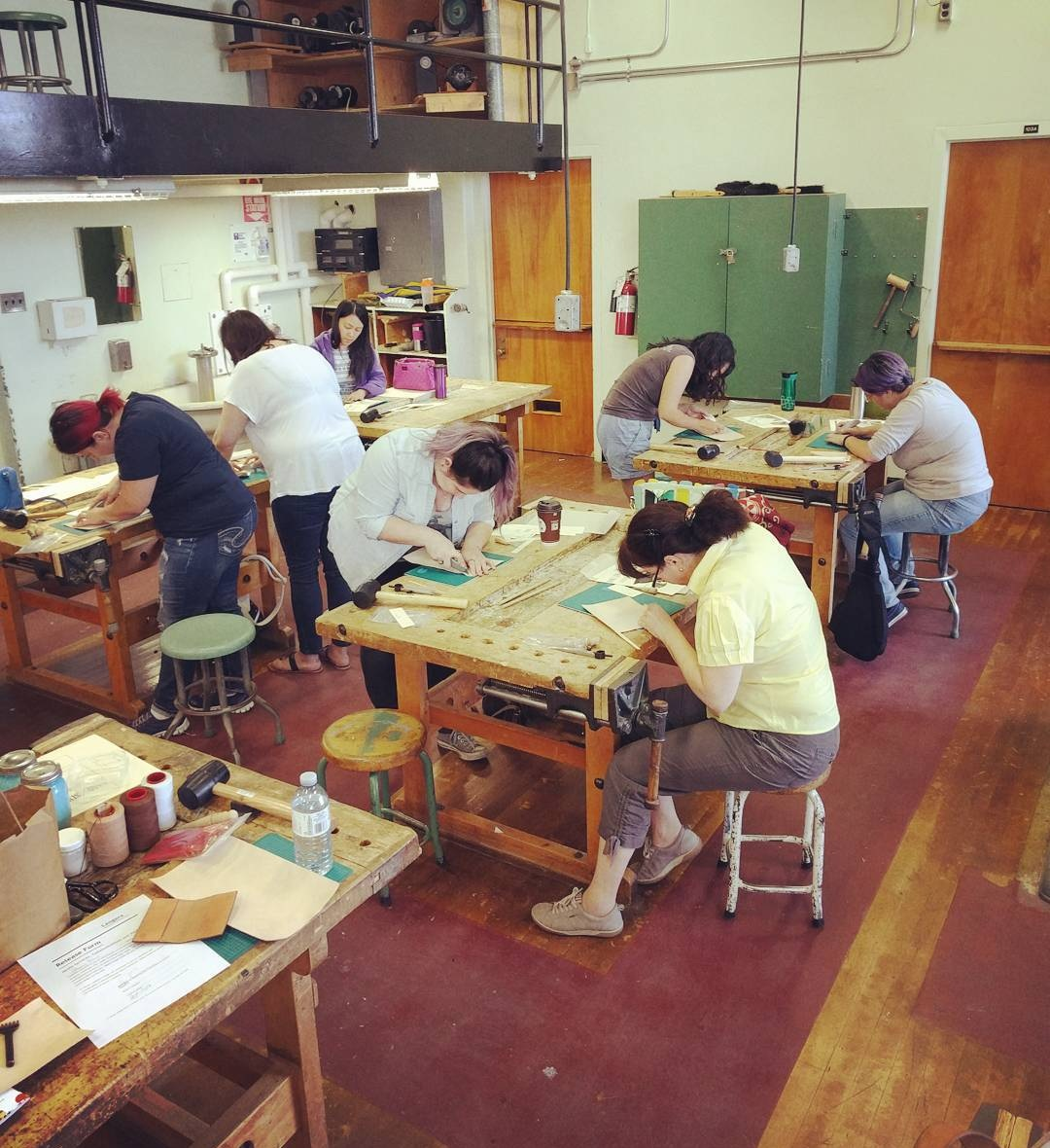 Do you teach classes? - Boy howdy, do we. Founder Steven teaches private leatherworking classes where you can take home your own handmade bags, wallets, belts and other leather goodies.Learn more ➝