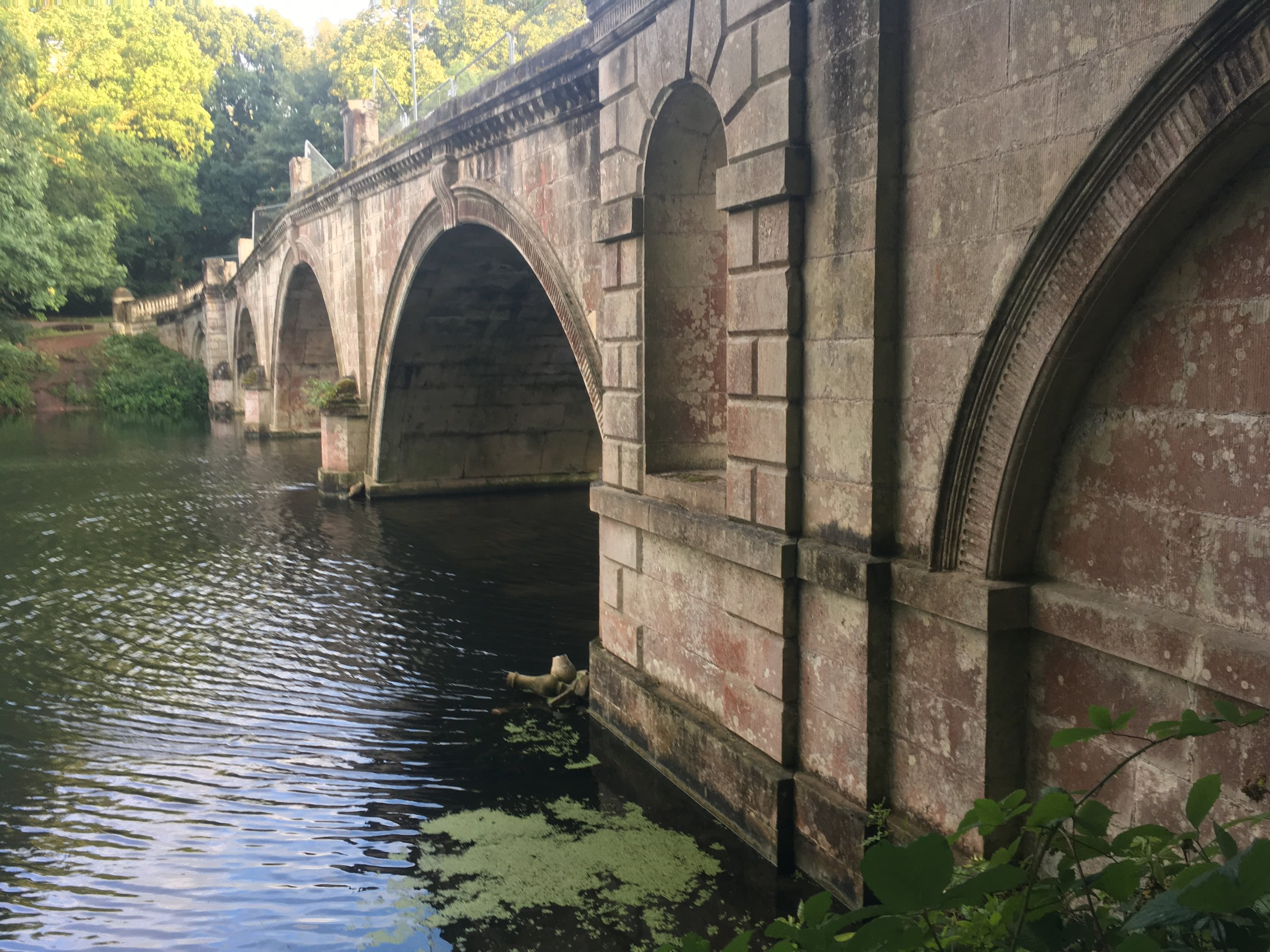 An ornate bridge surveyed for bats by B.A.T. Ecological in August 2018 (photo by Matt Cook)