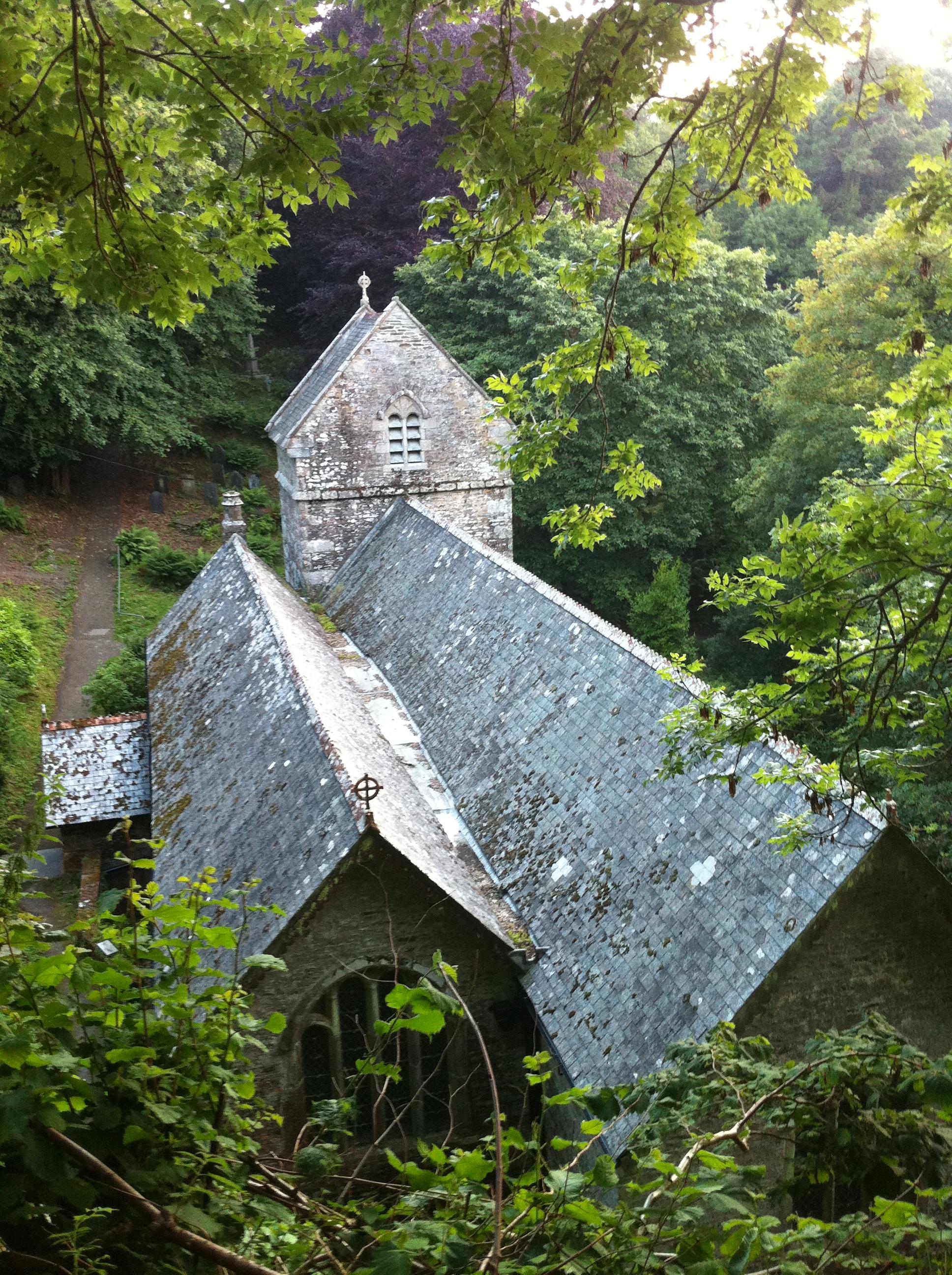A church surveyed by B.A.T. Ecological (photo by Matt Cook)