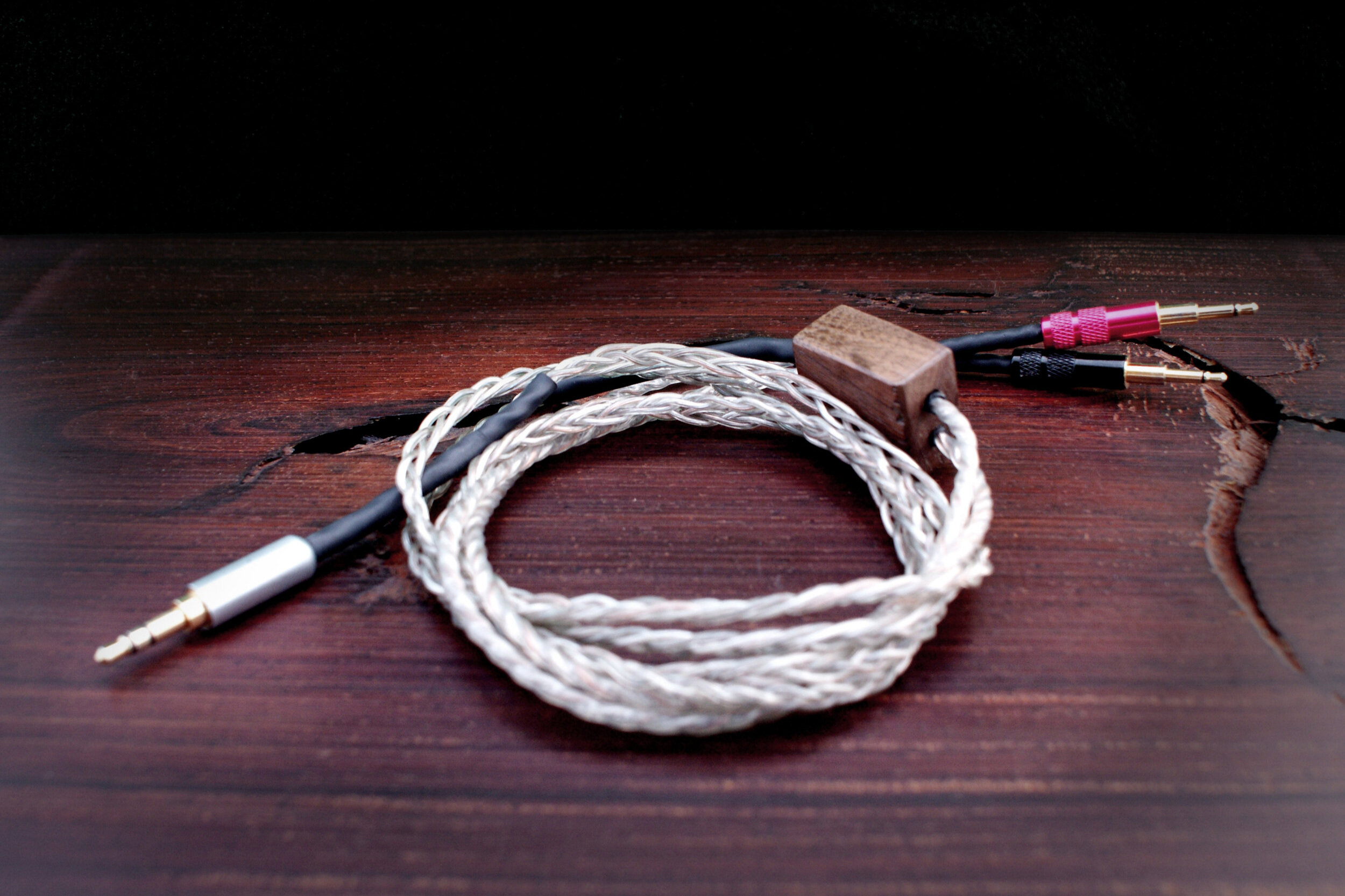 Silver and copper mix cable