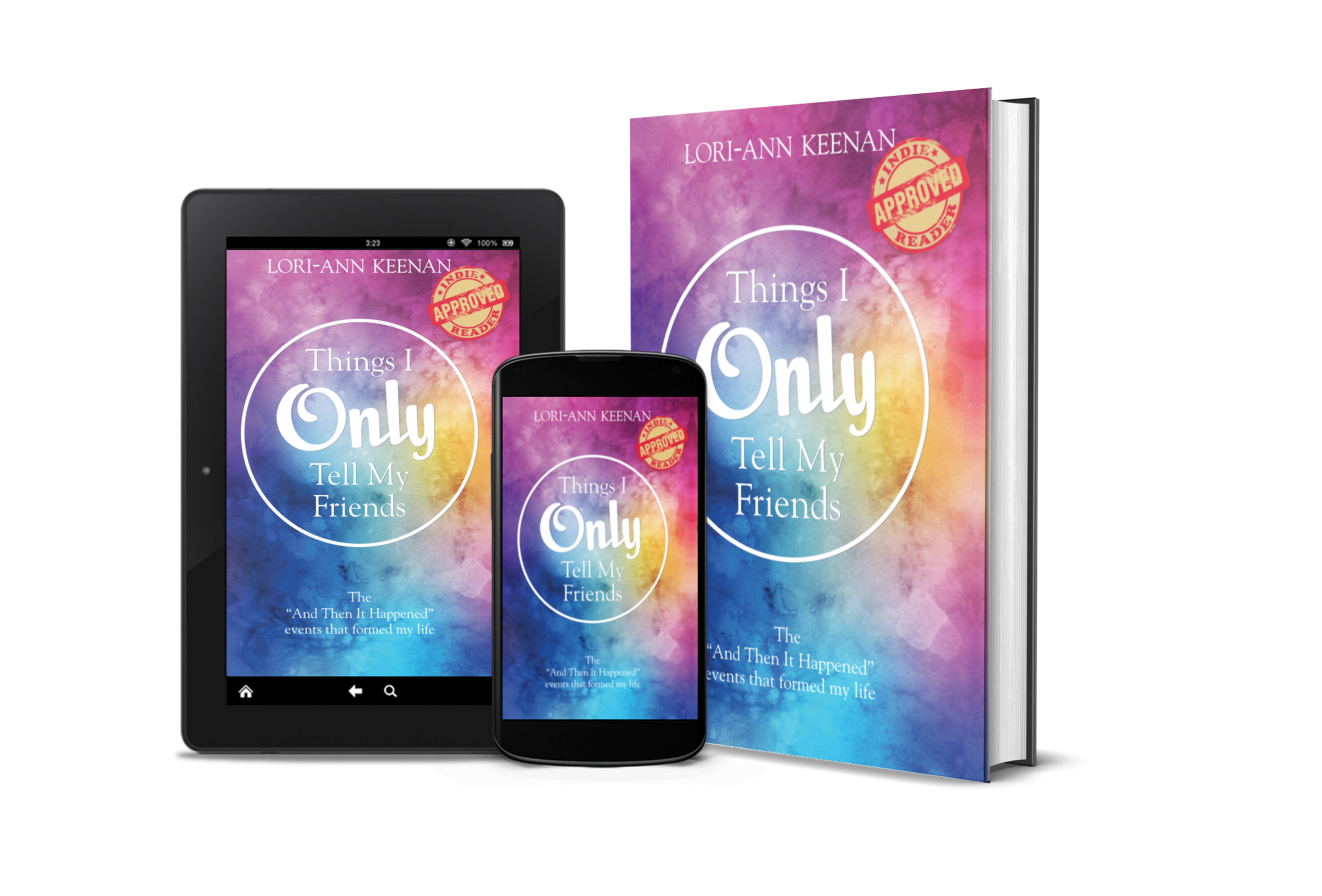 order the entire set… - Experience Lori-Ann's inspirational story in each of three options, printed book, e-book and audio. COMING SOON.