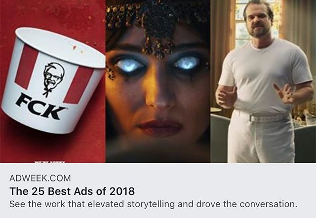"""Quota"" named in AdWeeks Top 25 Best Ads for 2018.  Thank you AdWeek for the post and congratulations to Todd Quartararo at The Newport Beach Film Festival-Erich Funke, Melissa Webber, Jeff Perino, Zak Masaki, Larry Struber and the rest of the team at The Garage / Team Mazda. Big thanks to Jump Editorial, Company 3, Method, Yessian Music and Director Jillian Martin here at Untitled for some great work!  Go team!  Check out the full article in the link in the description!"