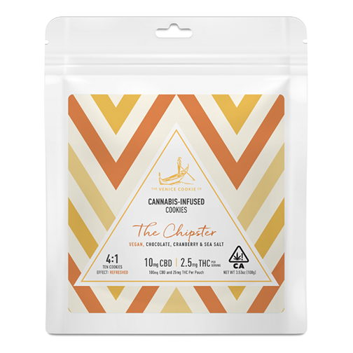 CBD:THC 4:1 Cookies by The Venice Cookie Company