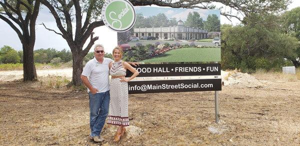 James and Tambra Prince at Main Street Social