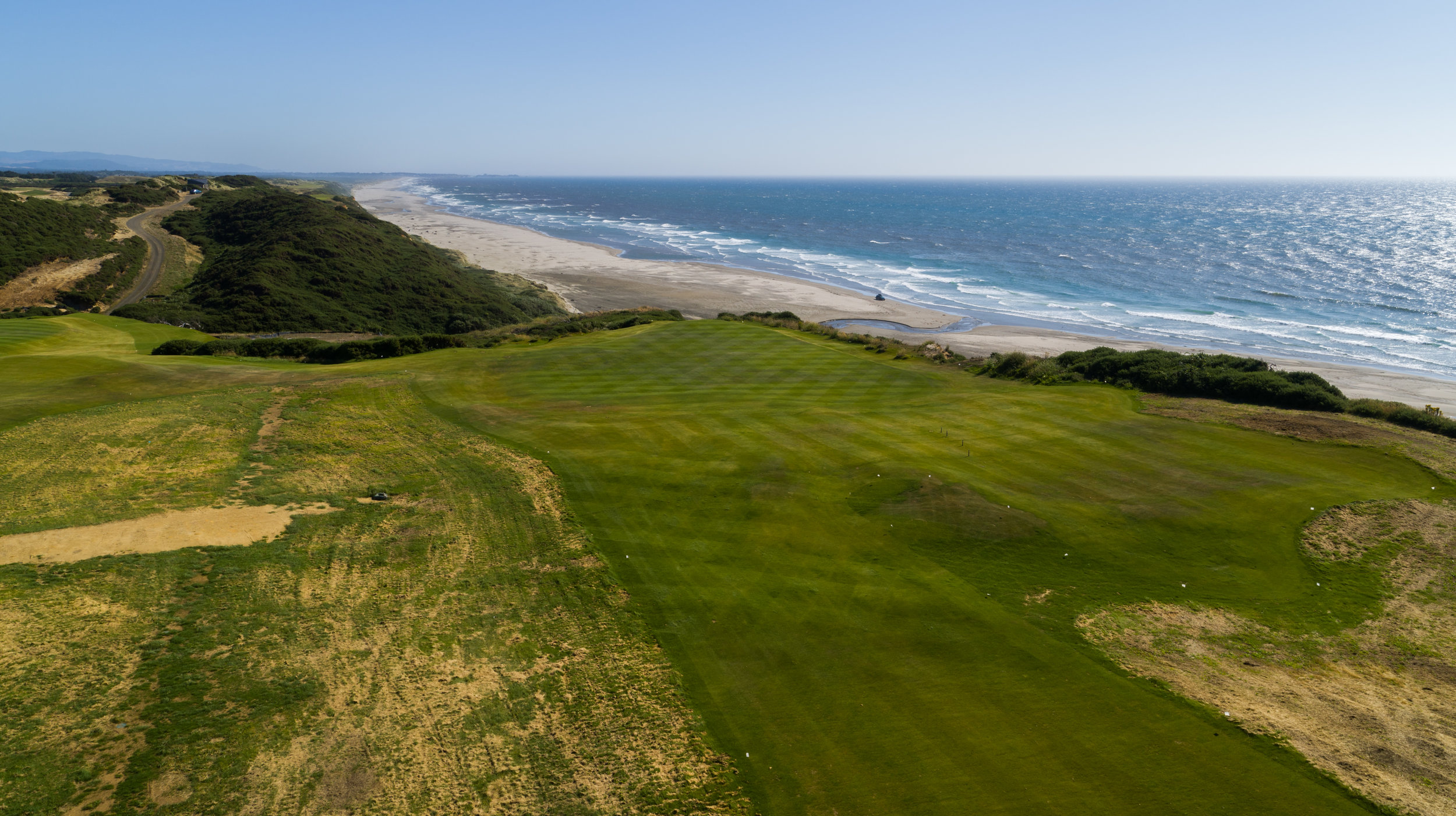 No. 7, a short Par-3, playing directly south was featured in our  No 7: A Meditation post  and will contend for one of the best views on property.