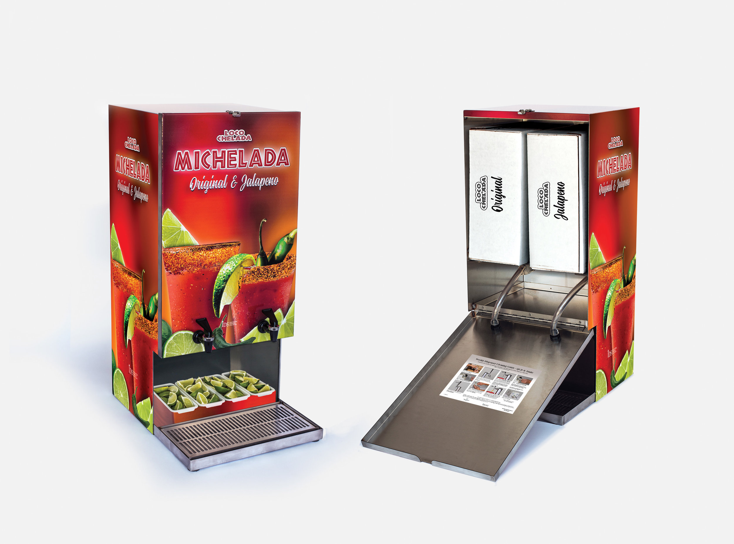 "Michelada ""Gravity"" Dispenser"