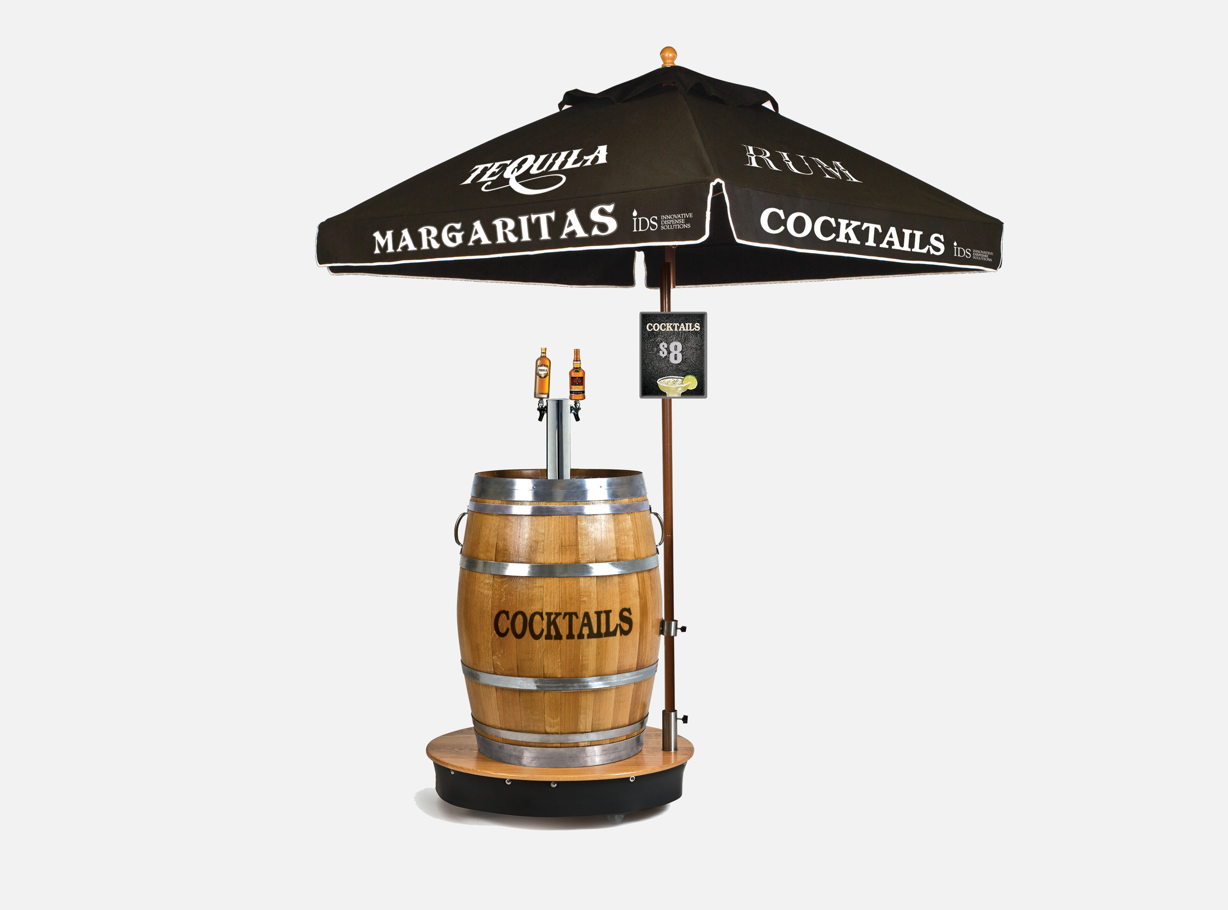 Cocktail Single Barrel Dispenser