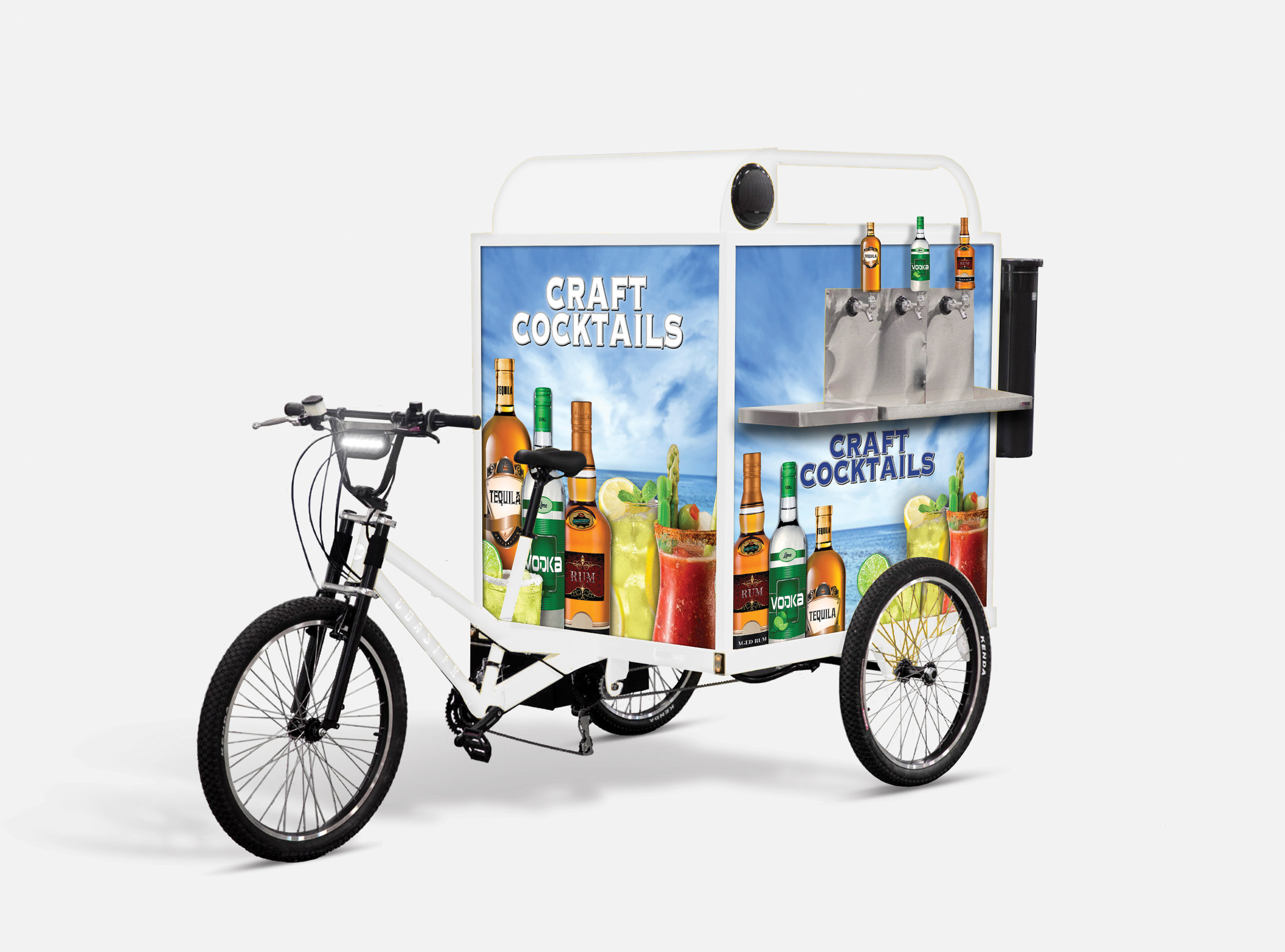 Cocktail-on-Tap Trike