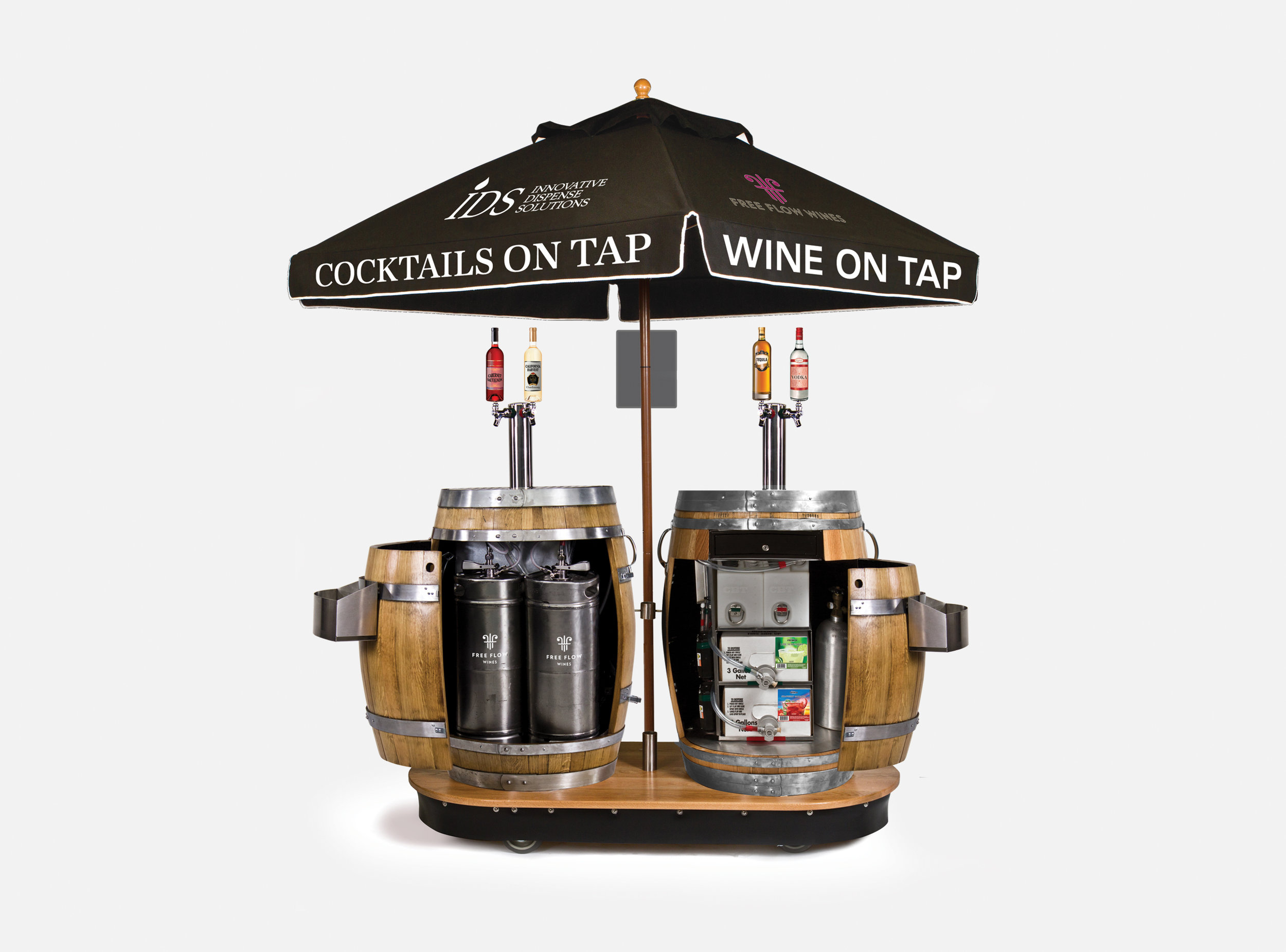 Slide-#-54-Cocktail-and-Wine-Double-Barrel-Dispensers-opened.jpg