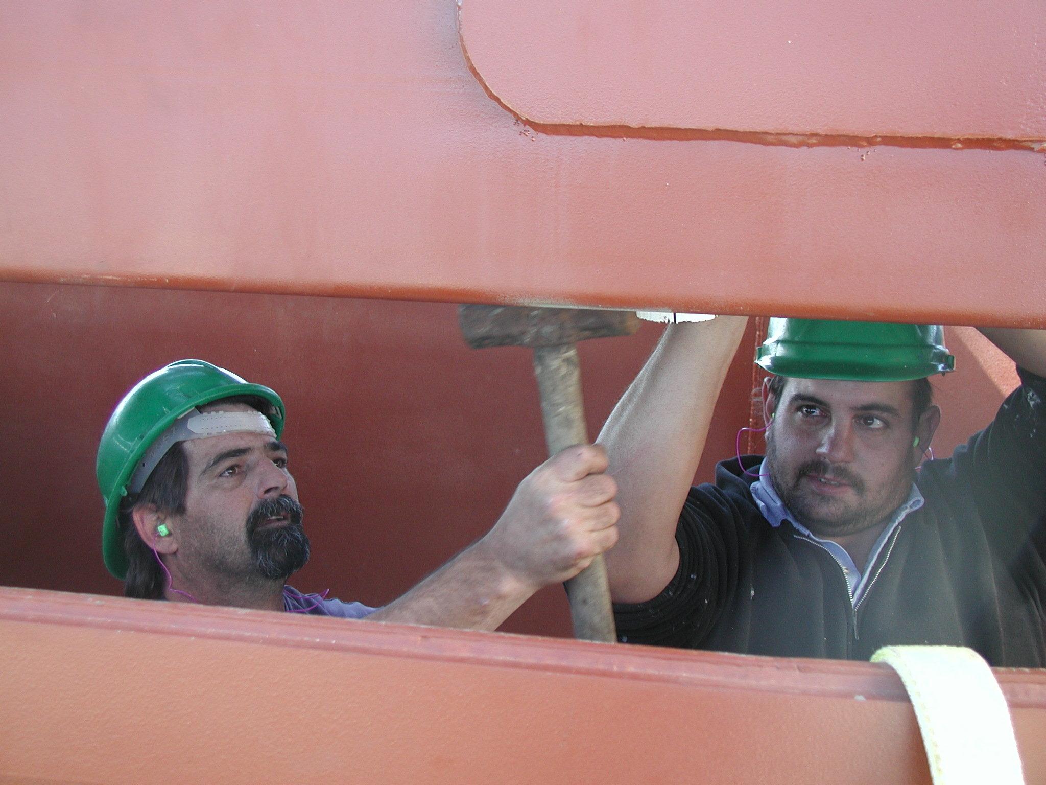 Jay and Joe in the digger 11-30-00.jpg