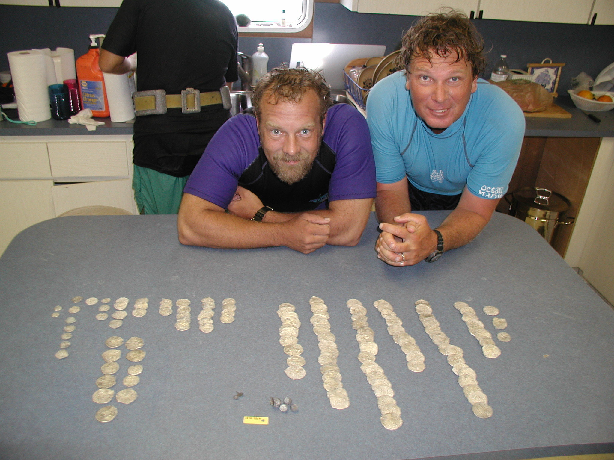 Jim Sinclair, Pete and coins high view.jpg