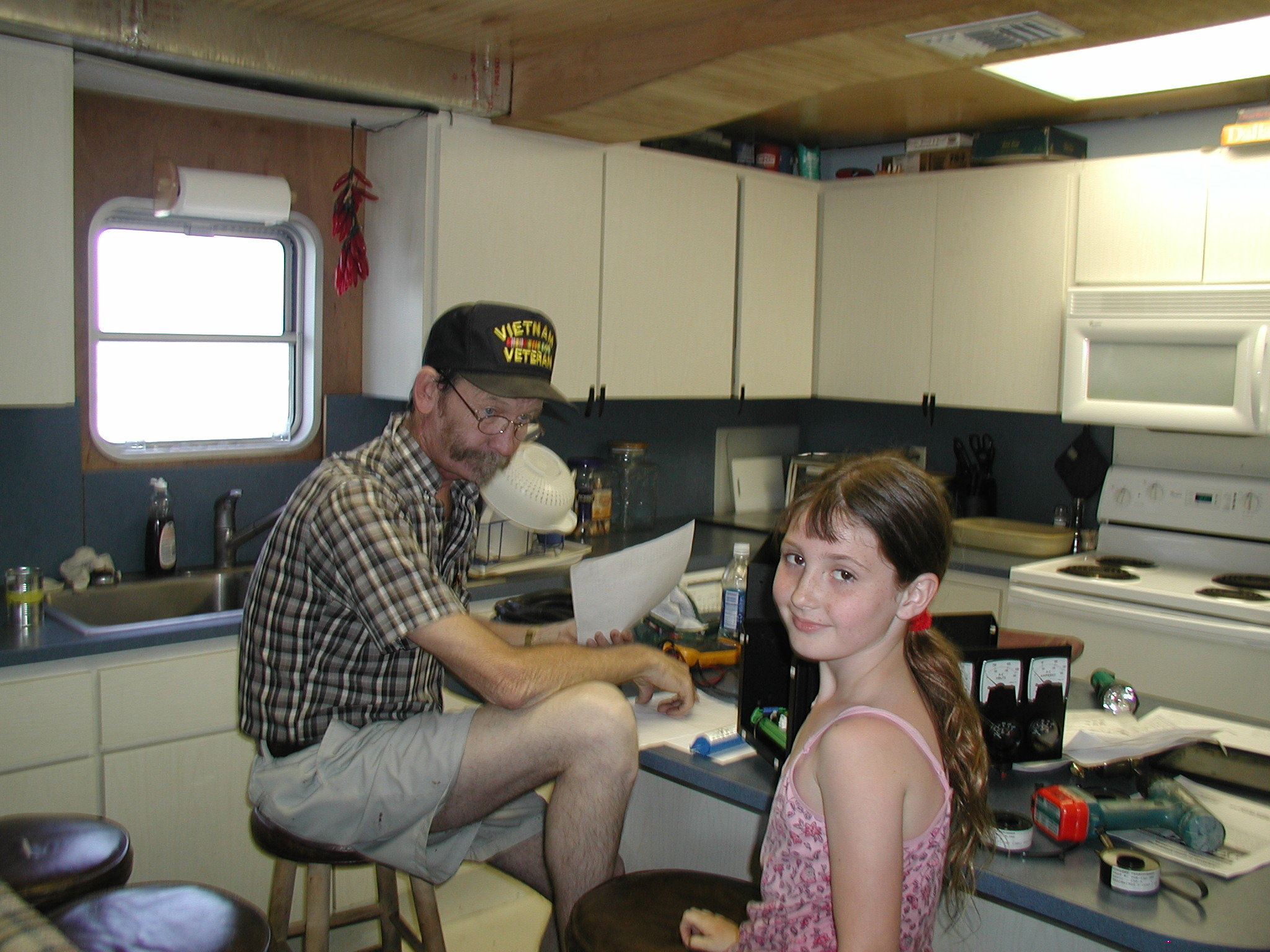 Our first Captain Don and Granddaughter.jpg