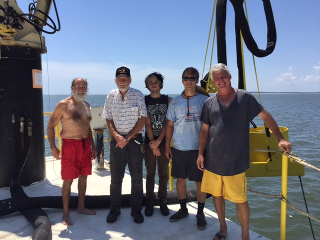 Crew on first day on site 2016.JPG