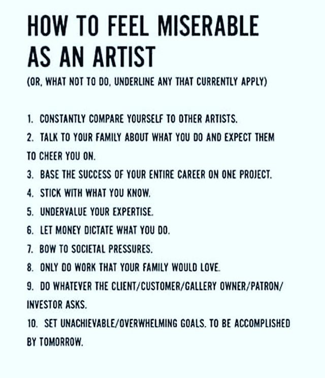 Well. Most is true. But being broke from not chasing a dollar or getting canned from not listening to the investor feels pretty miserable too. #songwriter #music #artist #guitarist #ascap #rockandroll #dreamer #reality #hollywood #austin