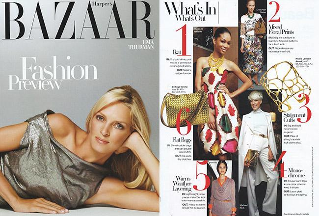 Aerin Cuff, Harper's Bazaar