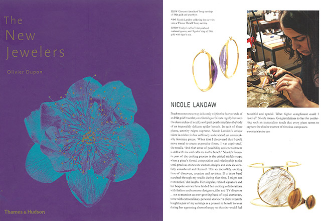 "NLJ feature in ""The New Jewelers"""