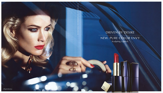 Agatha ring, Estee Lauder global ad campaign