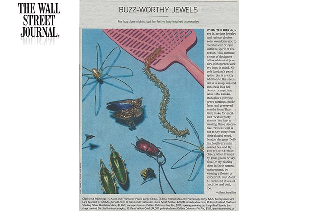 Spider, Wall Street Journal