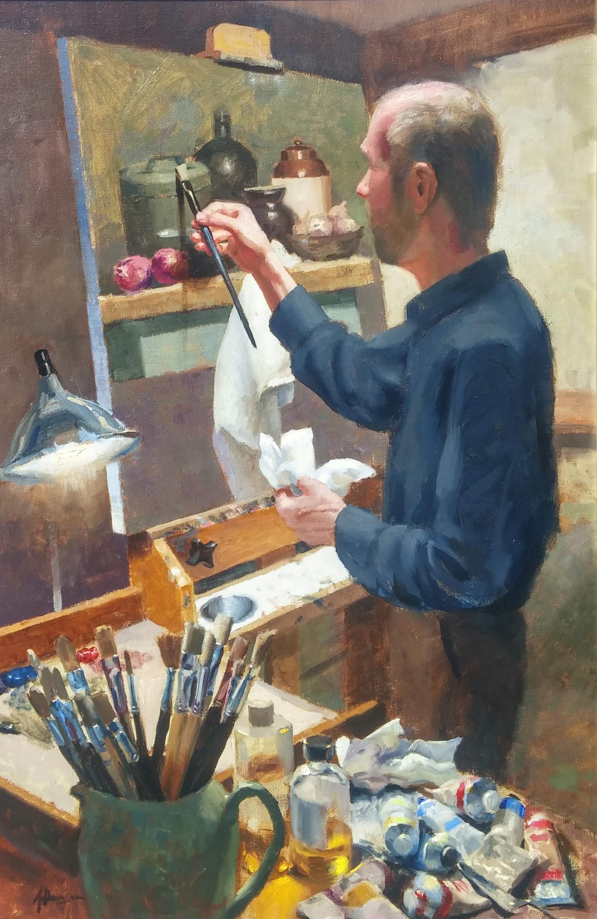 The Painter, Aaron Stills, Painting.jpg