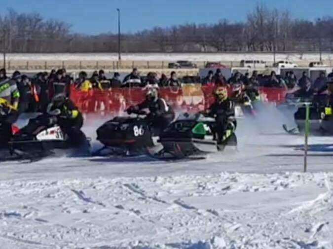 Despite subzero temperatures, last year's One Lunger 100 snowmobile race was so popular that race organizers are hoping for even bigger numbers for the 2019 endurance race, set for Saturday, Jan. 12. (Submitted photo)