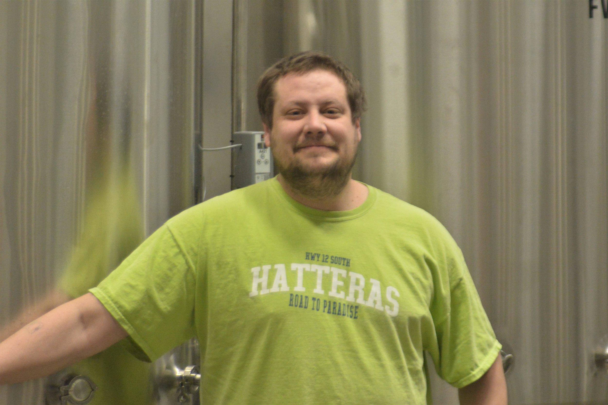 Brett Doebbeling, owner of Drastic Measures Brewing. Michael Denny/Wadena Pioneer Journal