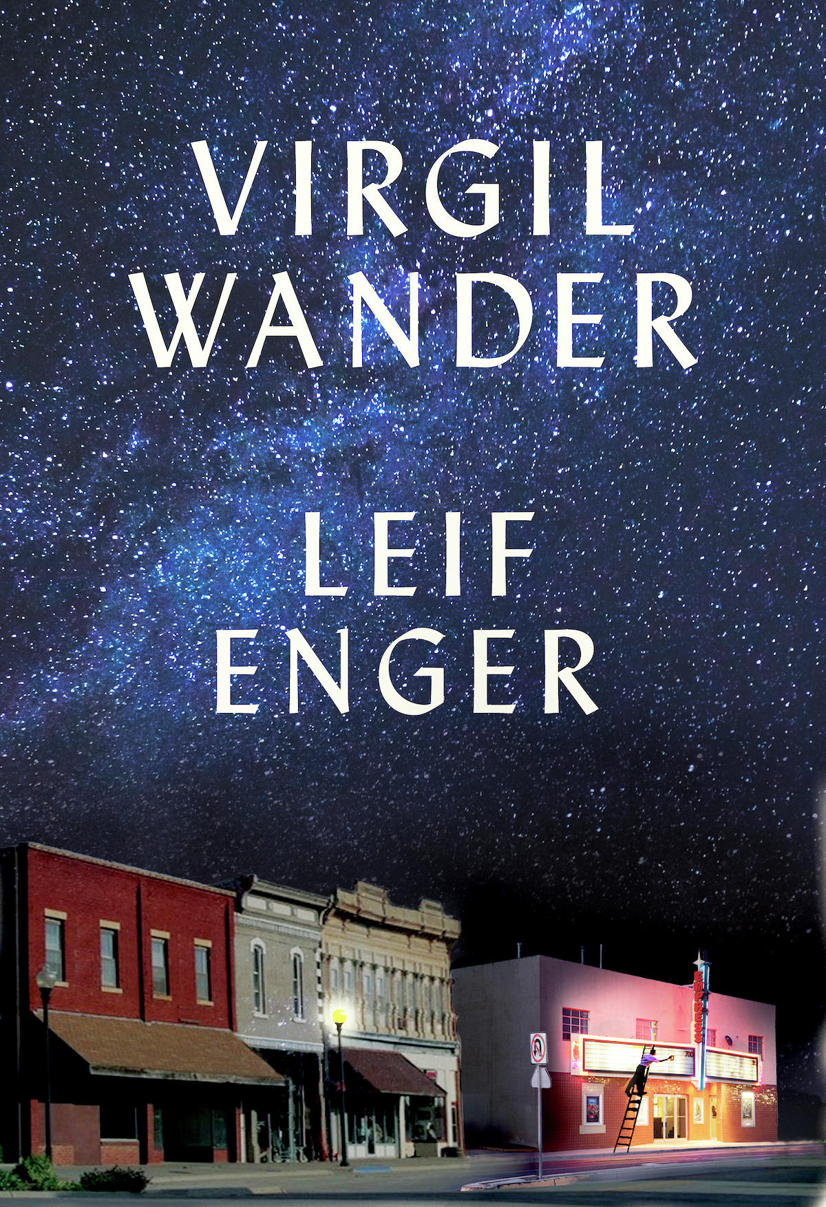 Book jacket from Leif Enger's latest novel. (Contributed)