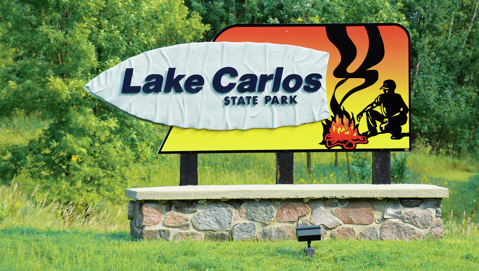 Lake Carlos State Park, approximately 10 miles north of Alexandria, was the second-most popular state park in Minnesota to camp in 2018. (Echo Press file photo)