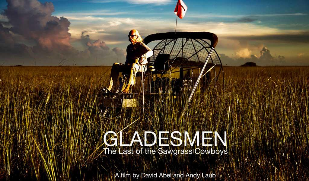 This is an award-winning, feature-length documentary about the federal government's ban on Florida's iconic airboats in much of the Everglades. Image from https://gladesmenfilm.wordpress.com