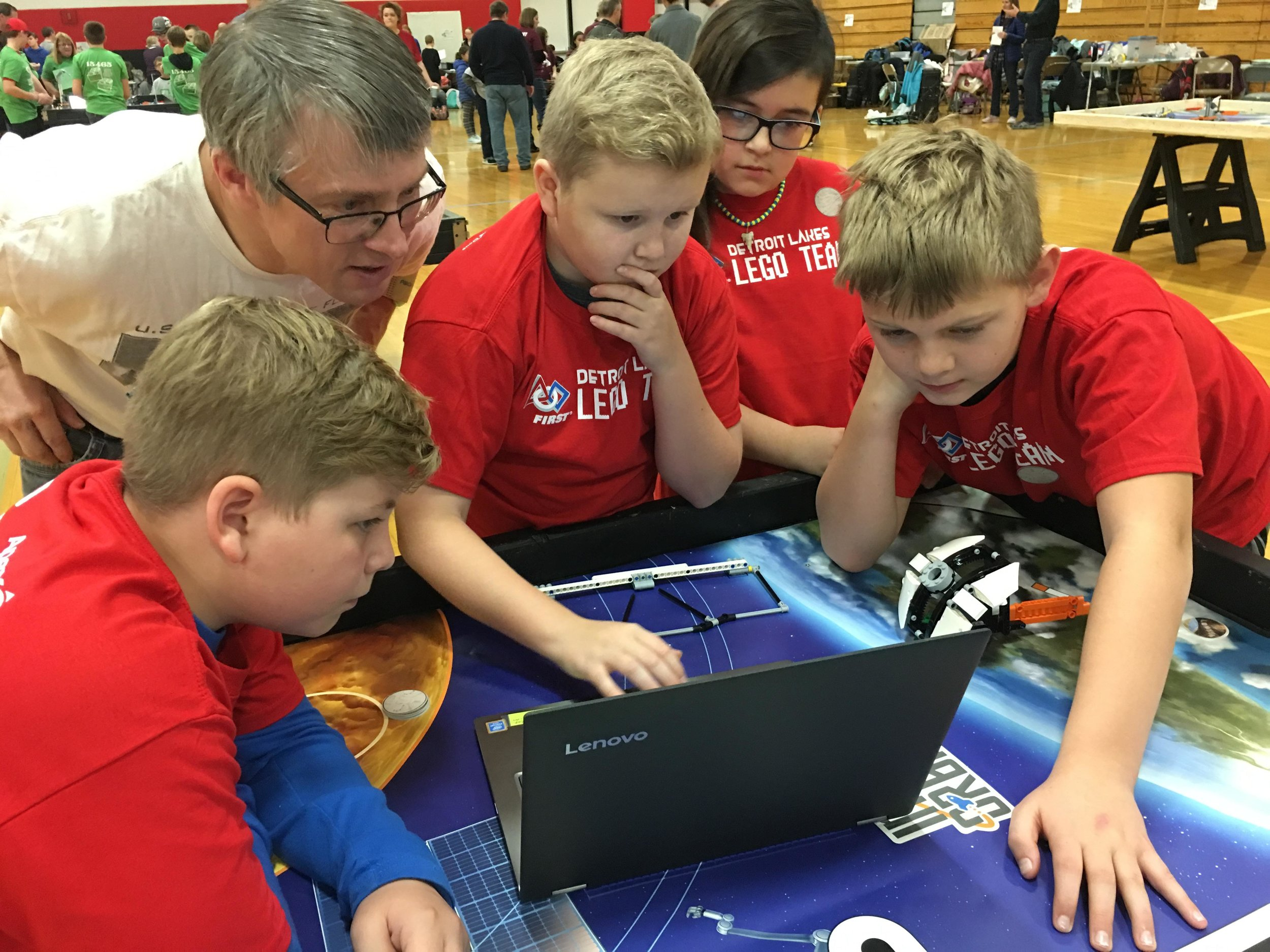 Teams are judged on their computer coding and programming skills, as well as their robot design and other criteria. (Submitted Photo)
