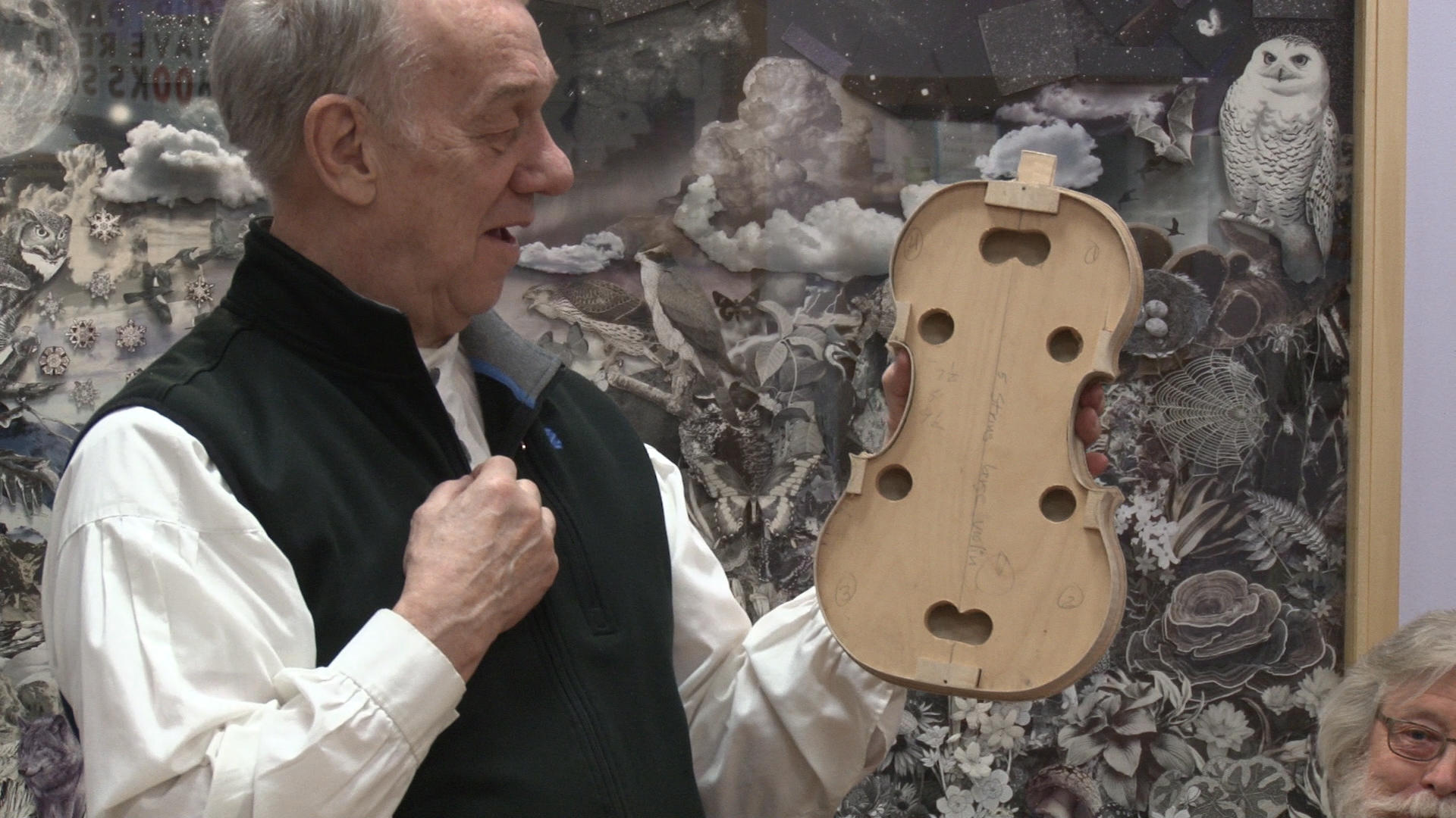 Every aspect of building a violin focuses on acoustic quality. Michael Denny/Wadena Pioneer Journal