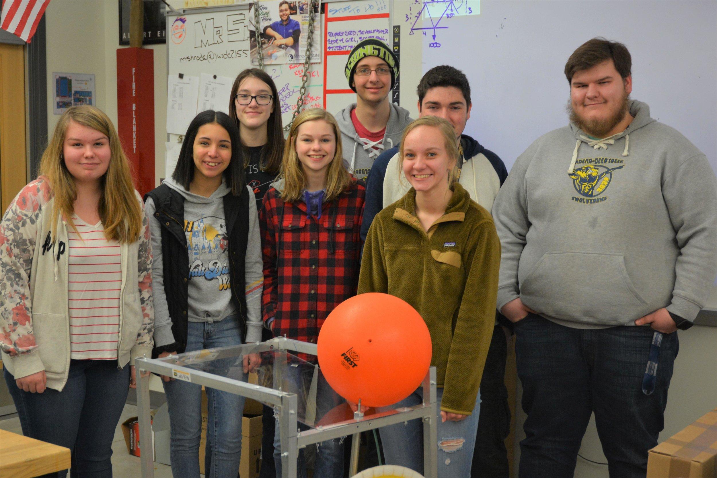 WDC Robotics team Michael Denny/Wadena Pioneer Journal
