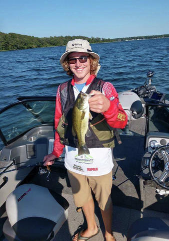 William Knoop was awarded DL's Angler of the Year in 2018.