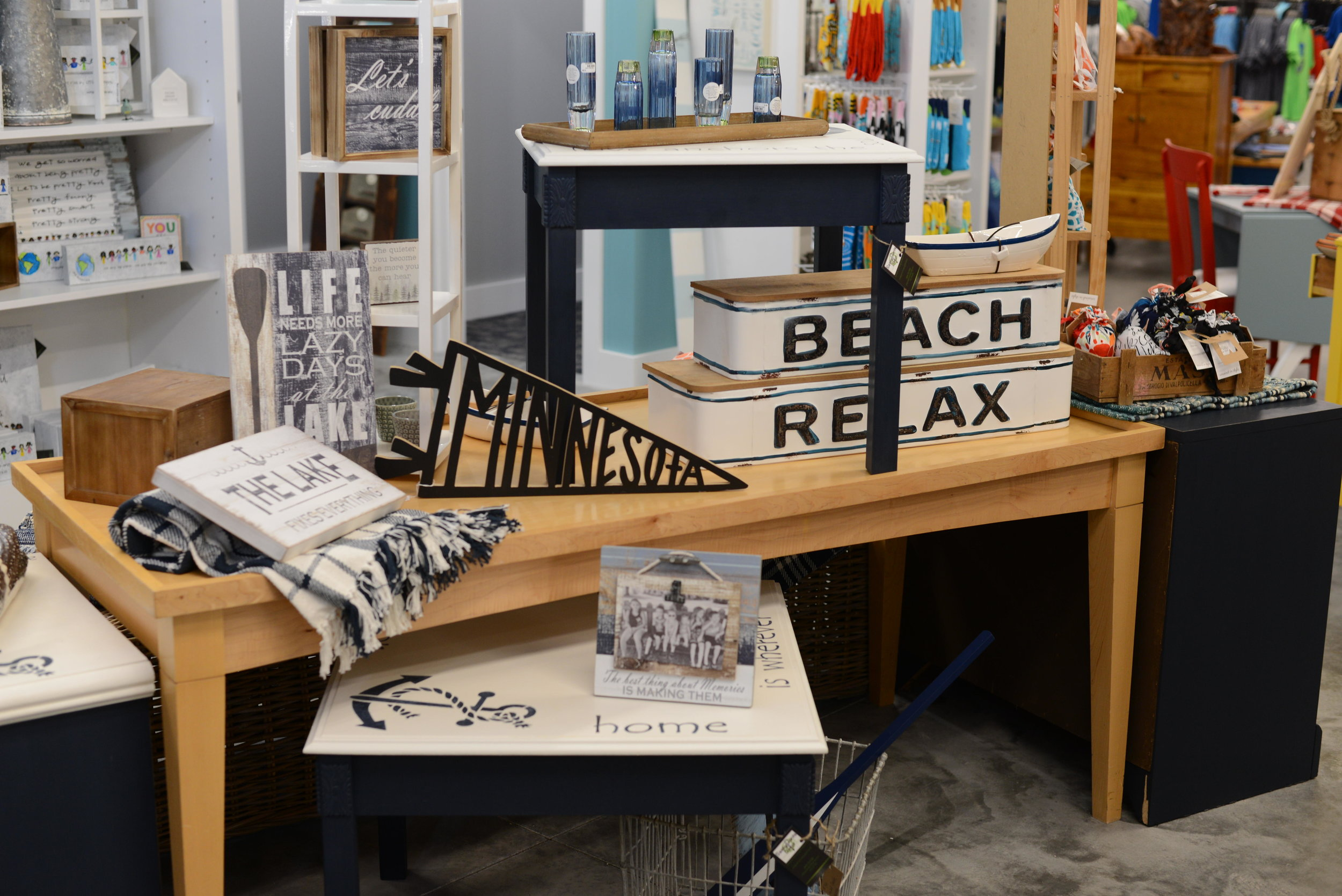 Periwinkle Marketplace has something for everyone. The new location has an expanded mens and kids section. (Carter Jones/ FOCUS)