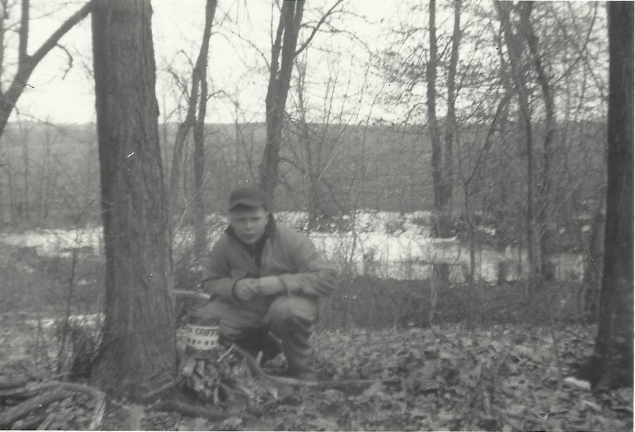 Leslie Bergquist was introduced to maple syrup making as a youngster growing up on a Meeker County farm near Dassel. He made it his 4-H project. He is shown here in a photo dated 1972. Submitted