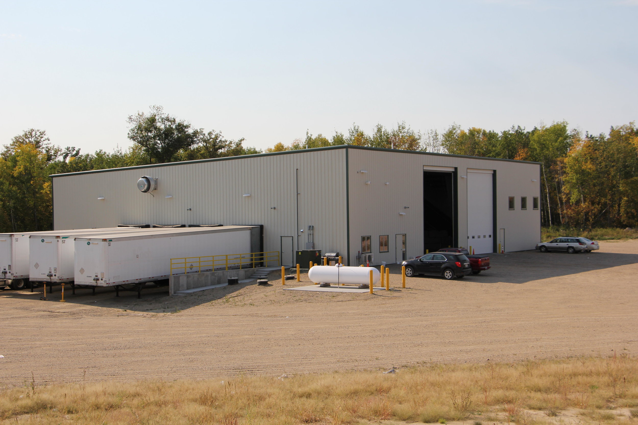 The Becker County recycling center opened last June at the transfer station north of Detroit Lakes. File photo